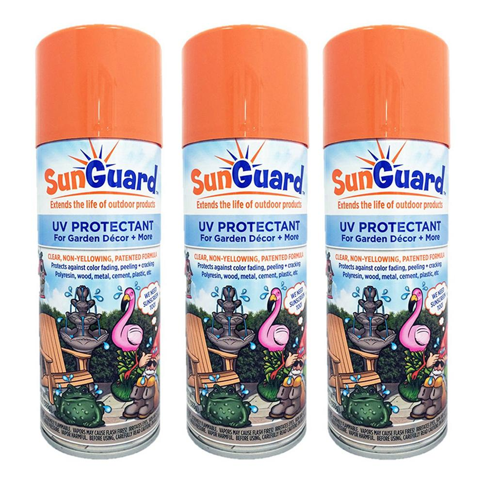 Homestyles Sunguard Uv Protectant Spray For Outdoor Decor Furniture And More 3 Pack
