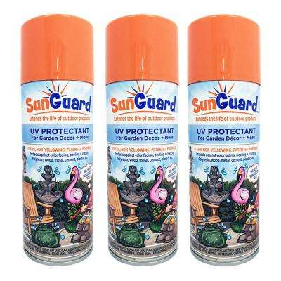 SunGuard UV Protectant Spray for Outdoor Decor, Furniture and More (3-Pack)