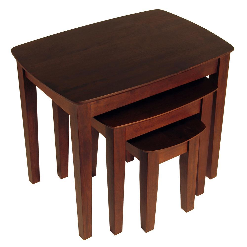 Genial Winsome Bradley 3 Piece Nesting Table Set
