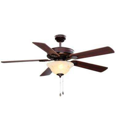 Bethany 52 in. Rustic Bronze Ceiling Fan