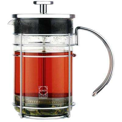 Madrid 3-Cup French Press in Chrome