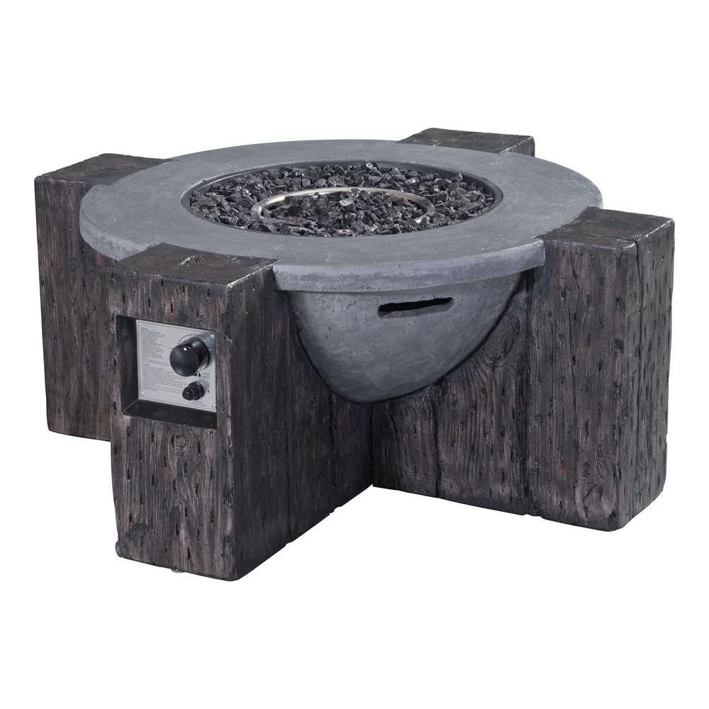 Zuo Modern Hades Fire Pit in Gray