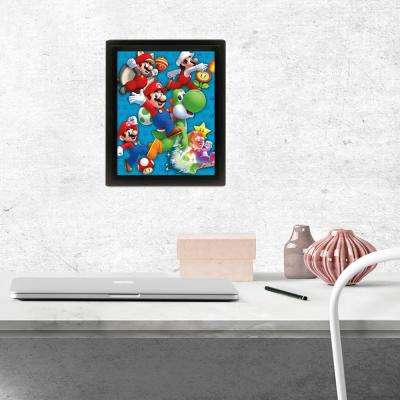 """Super Mario - Power Up"" Wall Art"