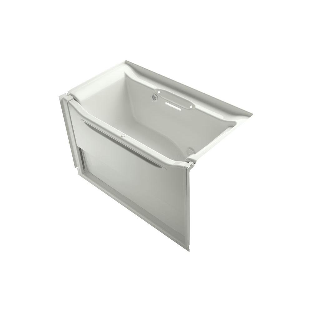 KOHLER Elevance 5 ft. Air Bath Tub in Dune-DISCONTINUED