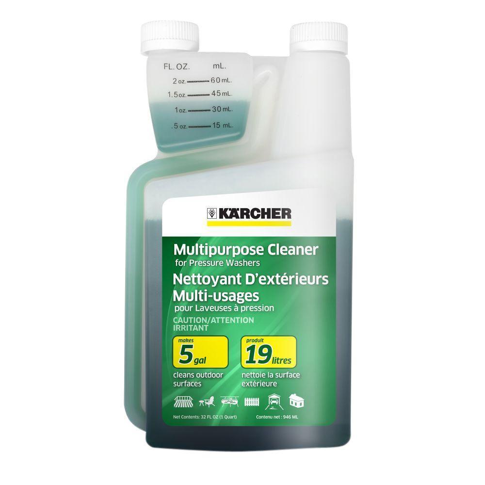 Karcher 1 Qt Multi Purpose Cleaner 20x Concentrate 9 558