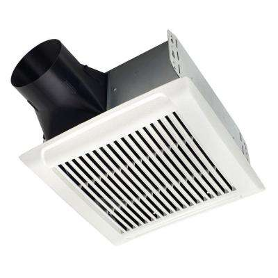 Roomside Series 80 CFM Ceiling Installation Bathroom Exhaust Fan