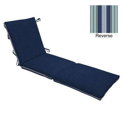 Sapphire Leala Texture Outdoor Chaise Lounge Cushion