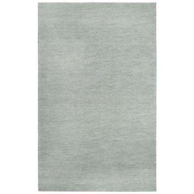 Fifth Avenue Gray 9 ft. x 12 ft. Solid Area Rug