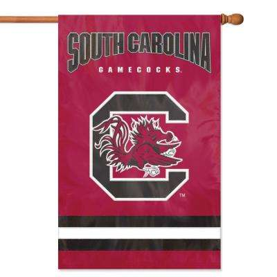South Carolina Gamecocks Applique Banner Flag