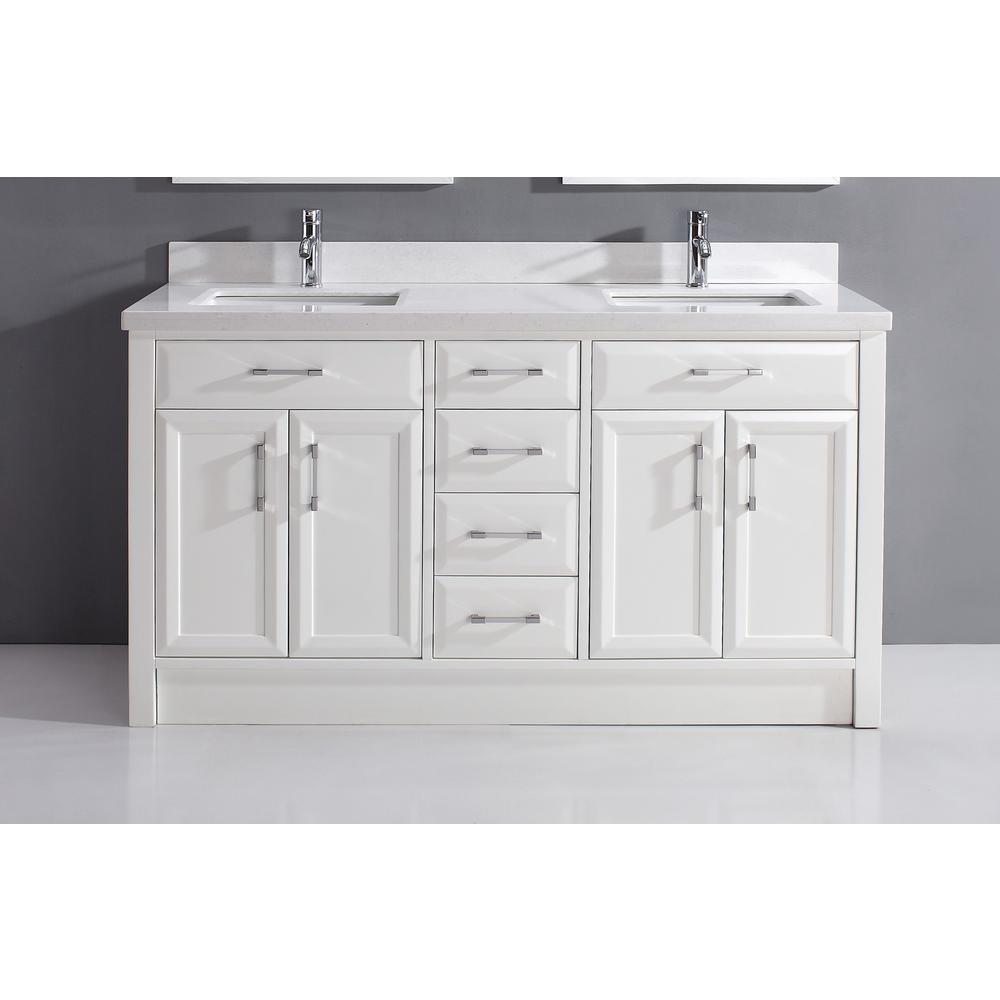 66 Inch Vanities Bathroom, 62 Inch Double Sink Bathroom Vanity Set