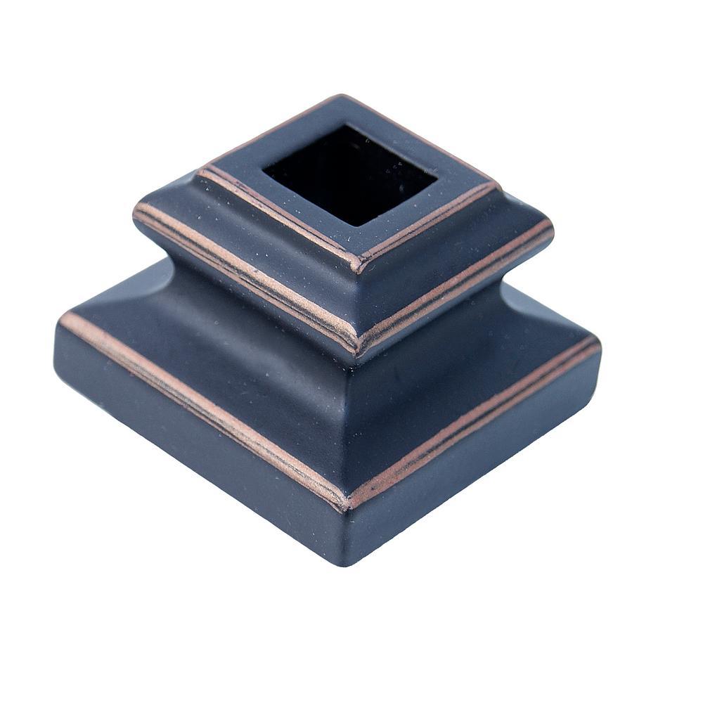 1/2 in. Oil Rubbed Bronze Flat Metal Shoe