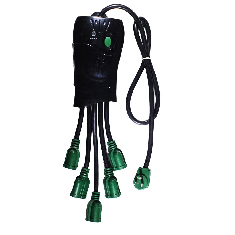 5 Outlet Octopus Surge Protector