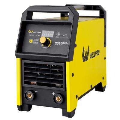 200 Amp Inverter Stick/Lift TIG Welder with Dual Voltage