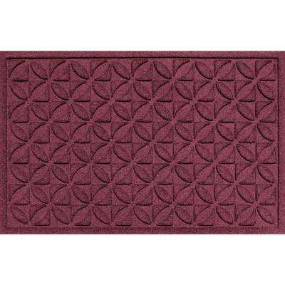 Heritage Bordeaux 24 in. x 36 in. Polypropylene Door Mat