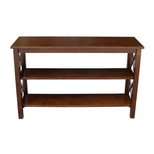 Hampton Espresso Console Table