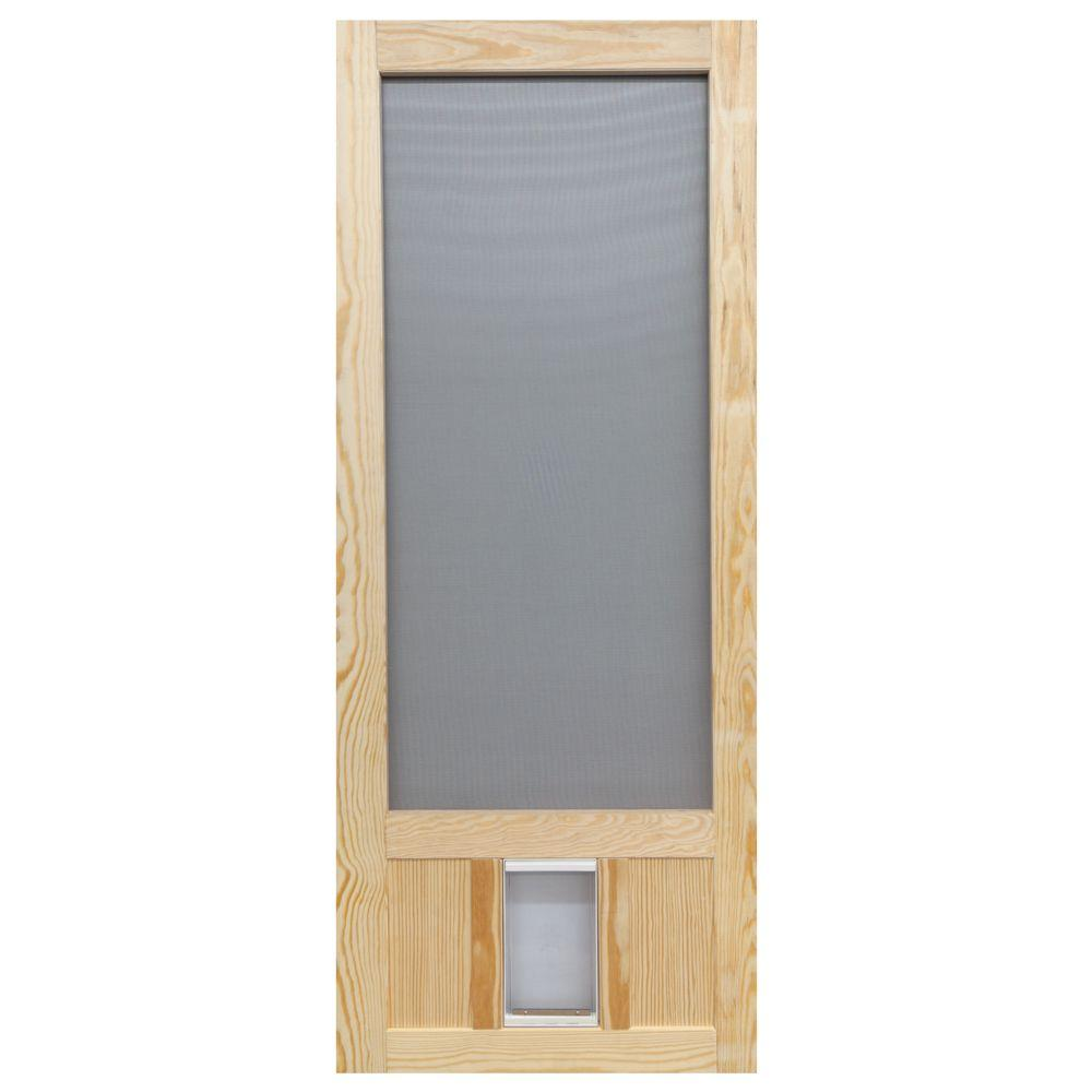 Hinged - Screen Doors - Exterior Doors - The Home Depot