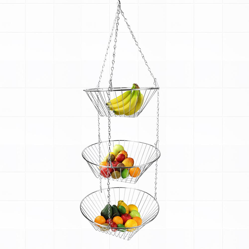 Fruit Basket in Silver