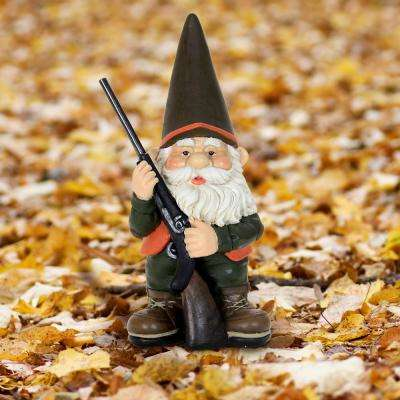 13 in. Hunting Gnome