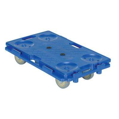 16 in. x 26 in. Interlocking Plastic Dolly