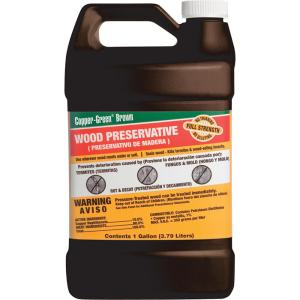 Copper-Green 1 gal  Wood Preservative-221832 - The Home Depot