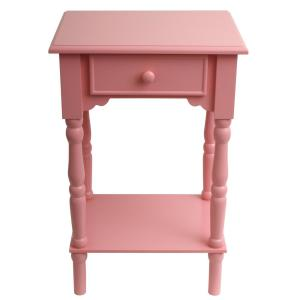 Decor Therapy Accent Pink End Table by Decor Therapy