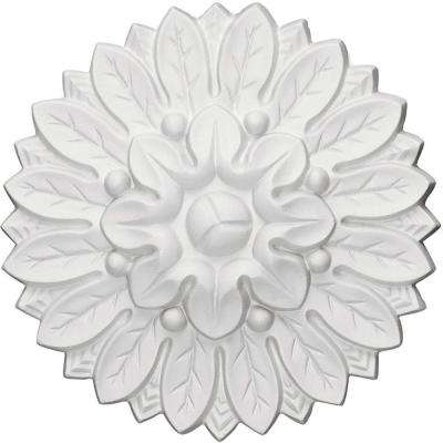 6 in. x 1-1/8 in. x 6 in. Chesterfield Rosette