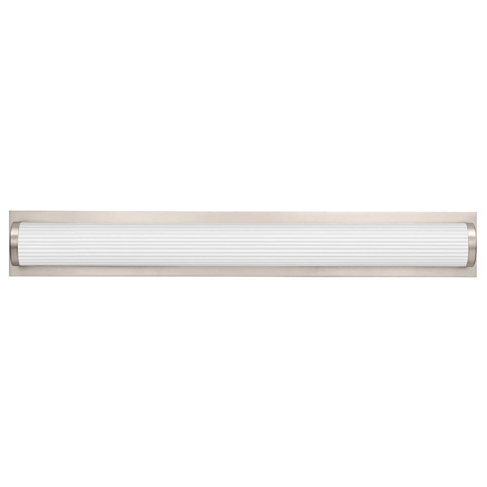 Vanity Light Lithonia : Lithonia Lighting Traditional Round 3-Light Brushed Nickel 3K LED Vanity Light-FMVTRL 36IN MVOLT ...