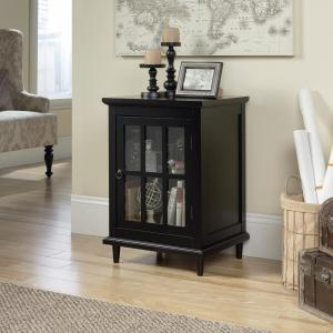 Wondrous Sauder Barrister Lane Black End Side Table 420144 The Home Pabps2019 Chair Design Images Pabps2019Com
