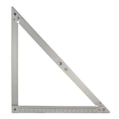 24 in. Aluminum Tri-Fold Paver Square Layout Tool