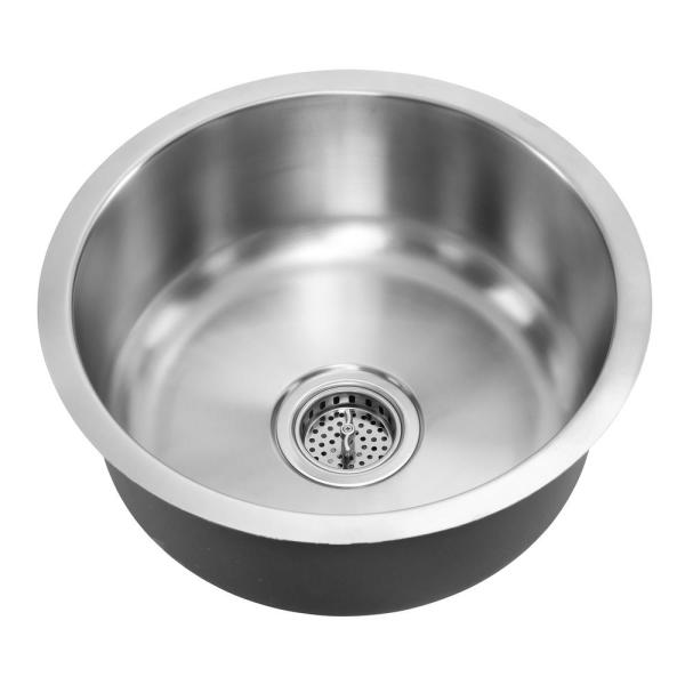 18-Gauge Stainless Steel 16-1/4 in. Single Bowl Undermount Bar Sink