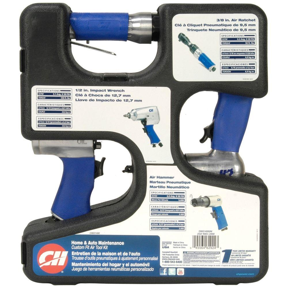 null 3-in-1 Air Tool Kit