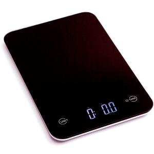 Ozeri Touch Professional Digital Kitchen Scale (12 lbs. Edition), Tempered Glass in Elegant Black by Ozeri