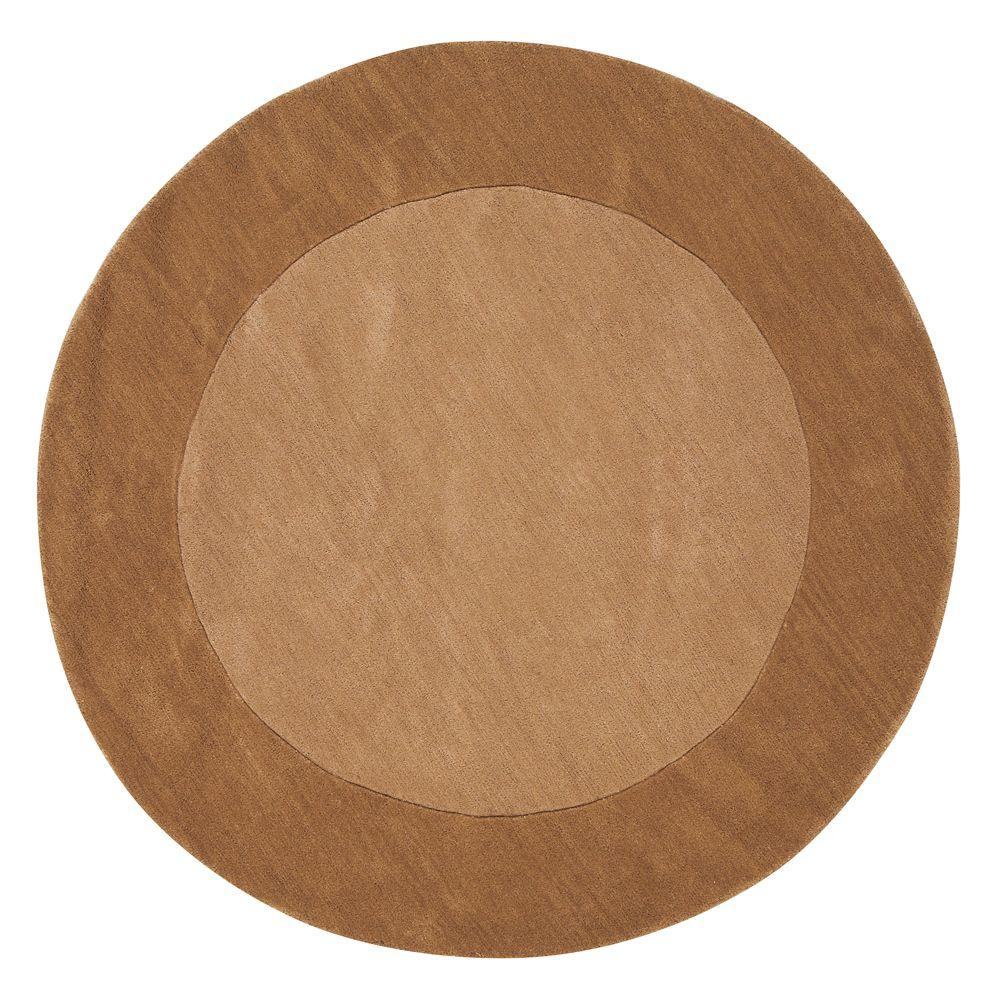 Home Decorators Collection Melrose Beige 5 ft. 9 in. Round Area Rug