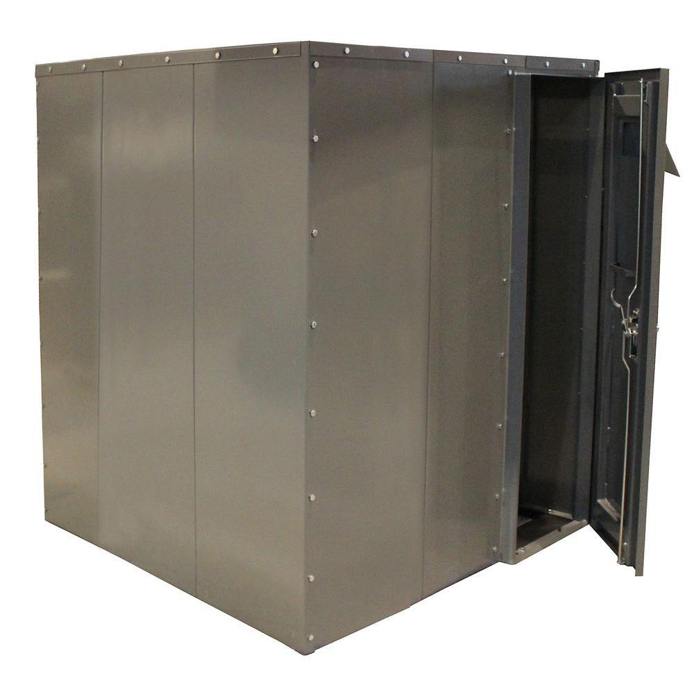 SafRoom 6 ft. x 6 ft. x 7 ft. Steel Tornado Shelter