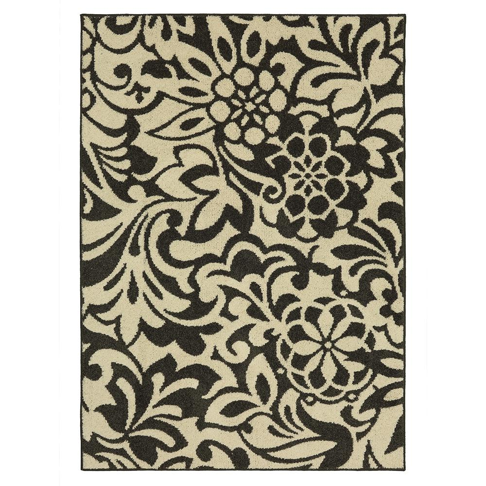 Mohawk Home Simpatico Earth Gray Starch 7 Ft X 10 Area Rug