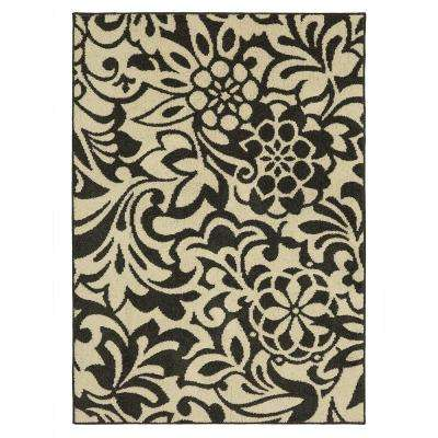 Simpatico Earth Gray Starch 7 ft. x 10 ft. Area Rug