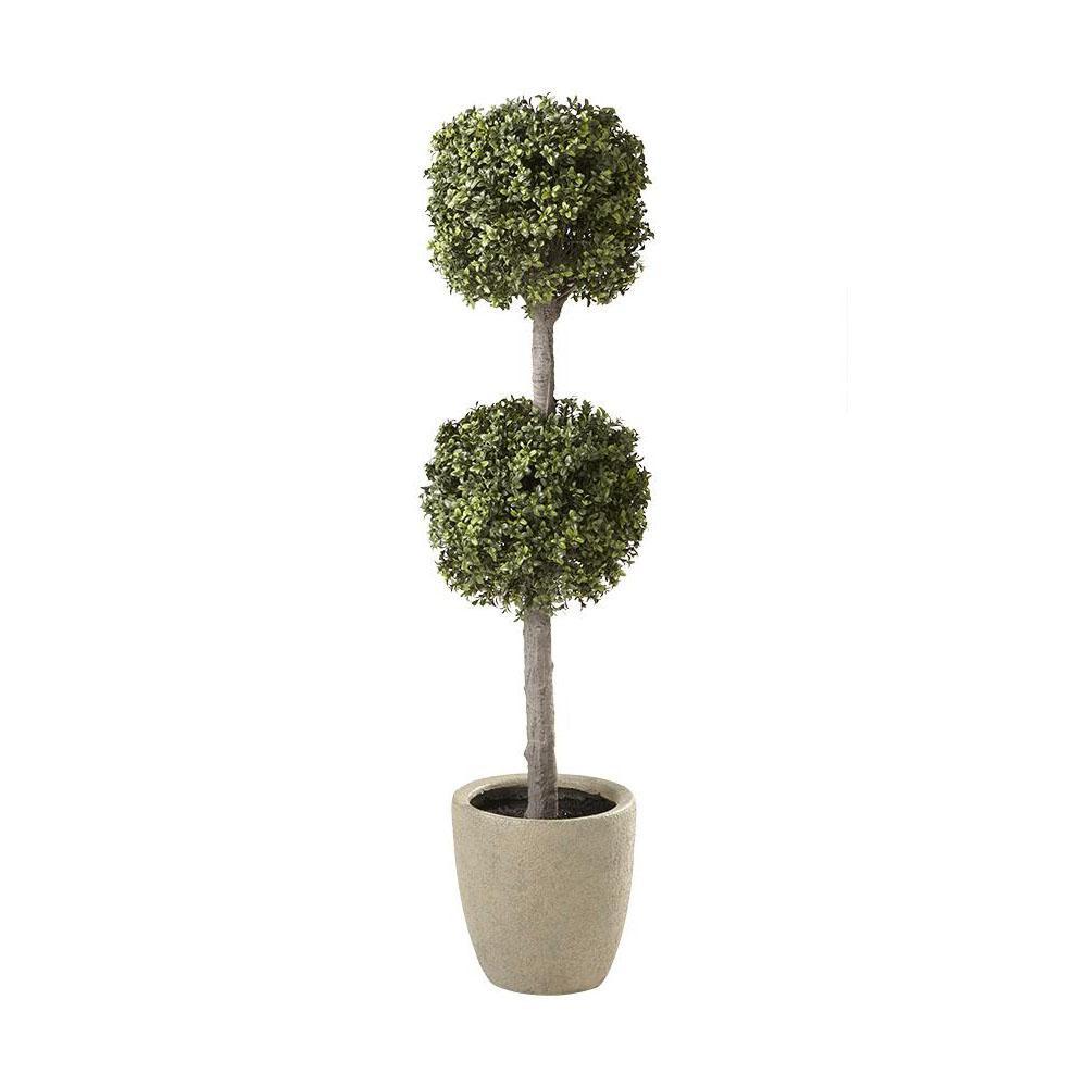 Carrington 5 ft. Double Sphere Topiary