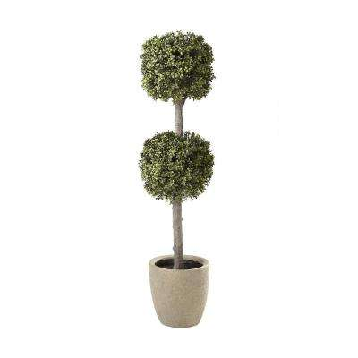 Carrington 5 ft. Double Sphere Topiary