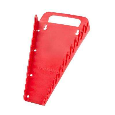 6.75 in. 13-Tool Store-and-Go Wrench Rack Keeper in Red
