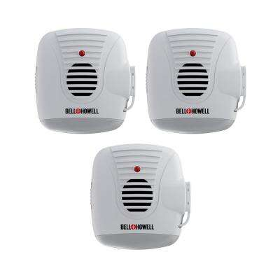 Ultra-Sonic Pest Repeller with AC Outlet and Night Light (3-Pack)