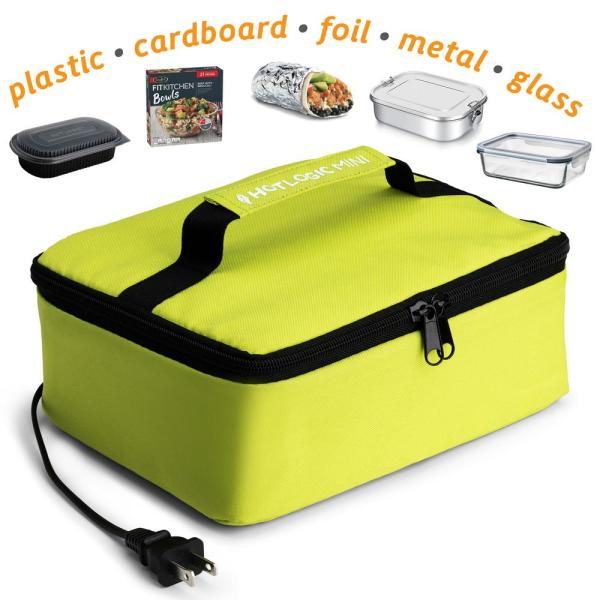 Hotlogic 45 Watts Green Portable Oven Food Warming Tote 16801056 Gn The Home Depot
