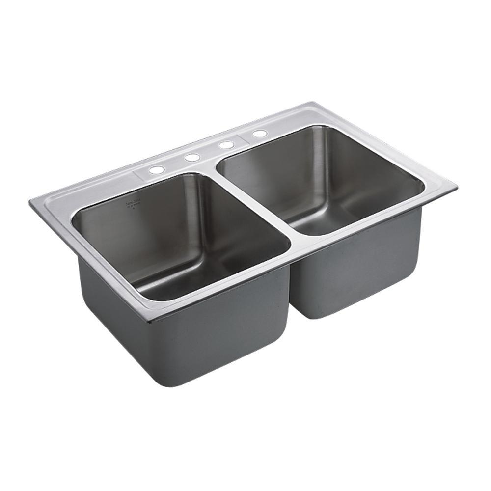 Moen Stainless Steel Kitchen Sinks