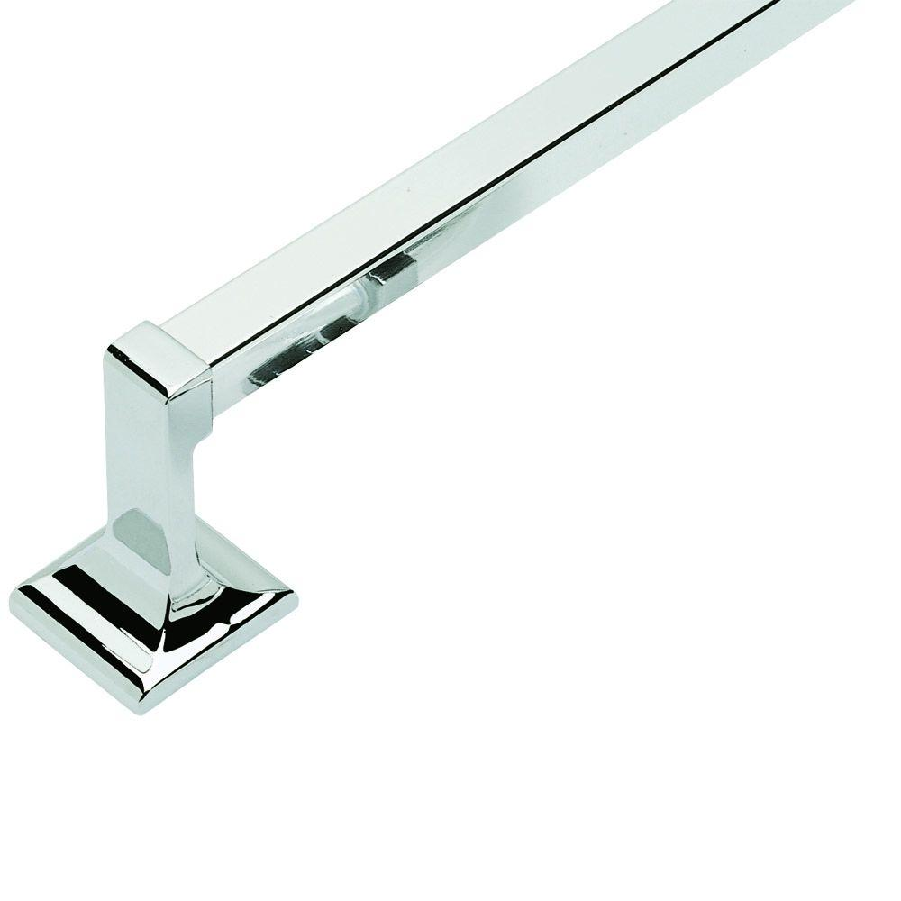 Design House Millbridge 24 in. Towel Bar in Polished Chrome