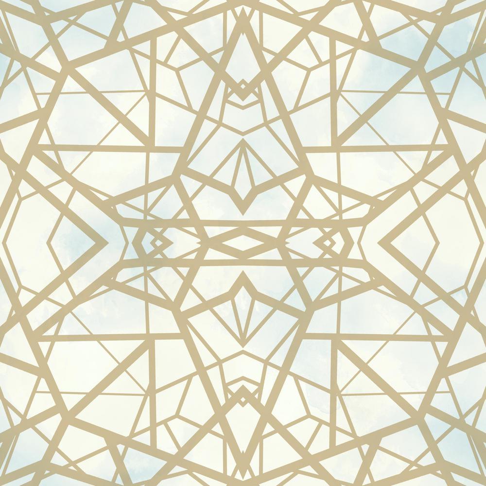Shatter Geometric Vinyl Peelable Wallpaper (Covers 28.18 sq. ft.)