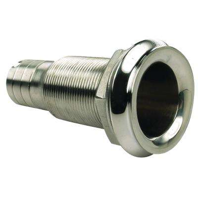 1 in. Mega-Flow Dripless Stainless Thu Hull
