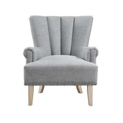 Belvedere Gray Accent Chair