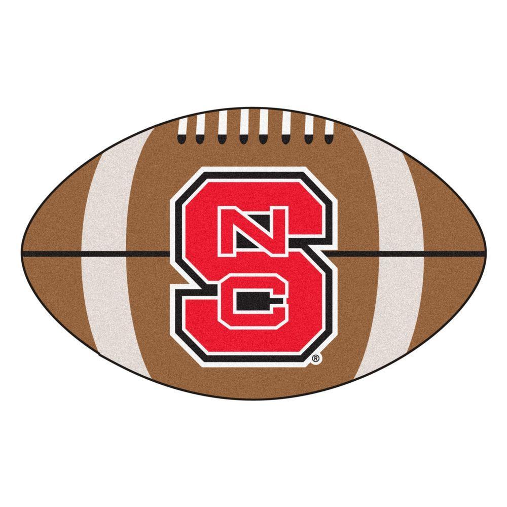 FANMATS NCAA North Carolina State University Brown 1 ft ...