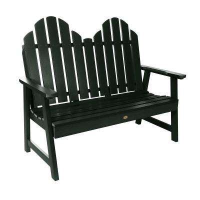 Classic Westport 48 in. 2-person Charleston Green Recycled Plastic Outdoor Garden Bench