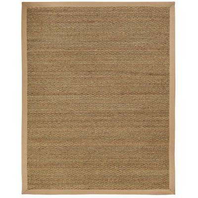 Sabertooth Tan Herringbone 5 ft. x 8 ft. Area Rug