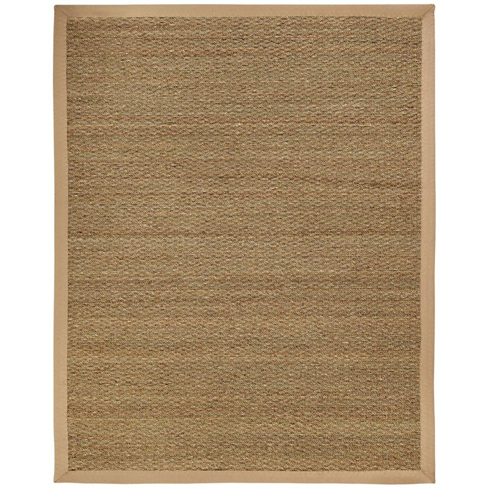 Anji Mountain Sabretooth Tan Herringbone 10 ft. x 14 ft. Area Rug